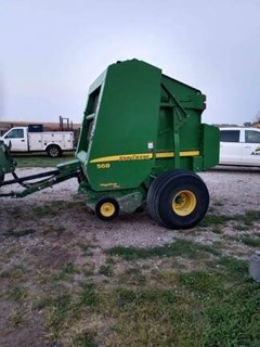 Baler-Round For Sale 2007 John Deere 568