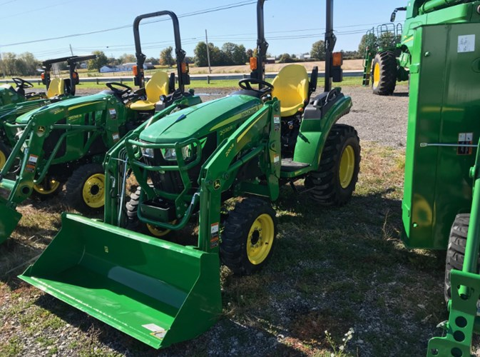 2020 John Deere 2038R Tractor - Compact For Sale