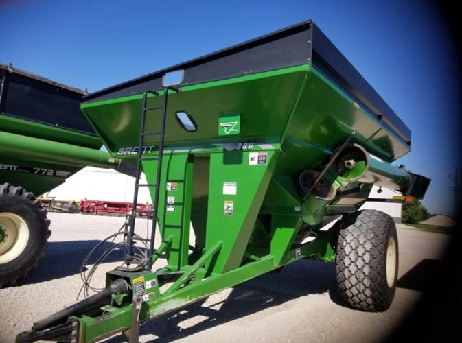 2006 Brent 880 Grain Cart For Sale