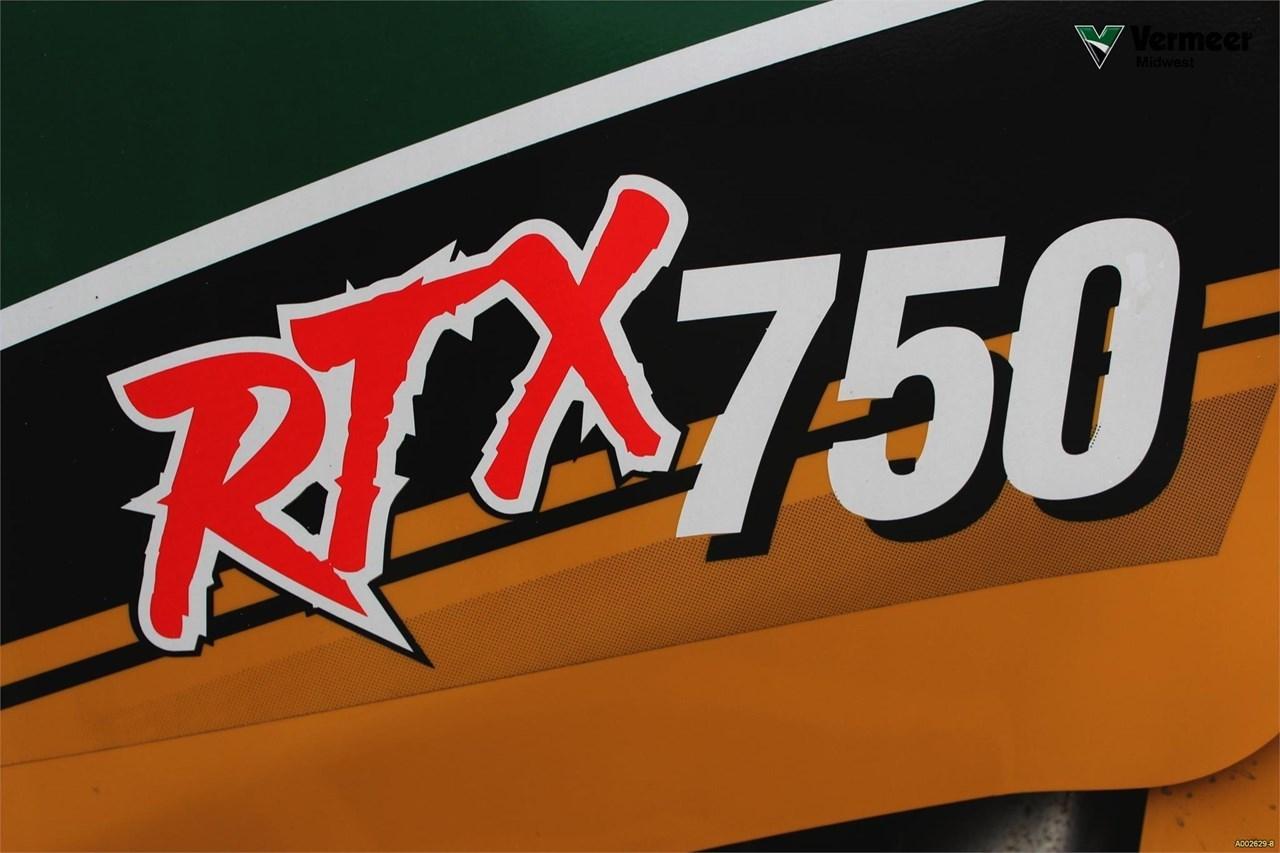 2012 Vermeer RTX750 Image 23