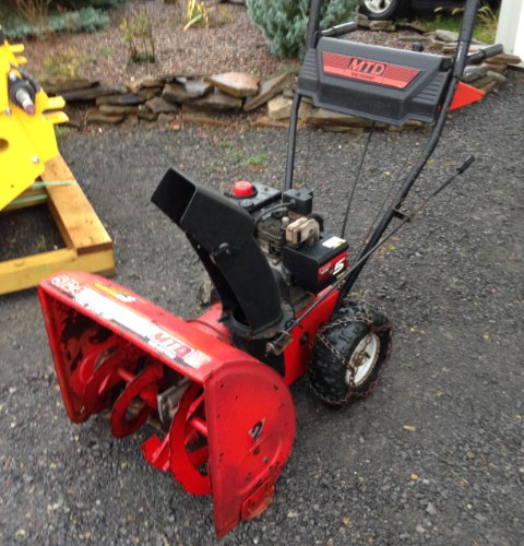 Yard Machines 24 Snow Blower For Sale