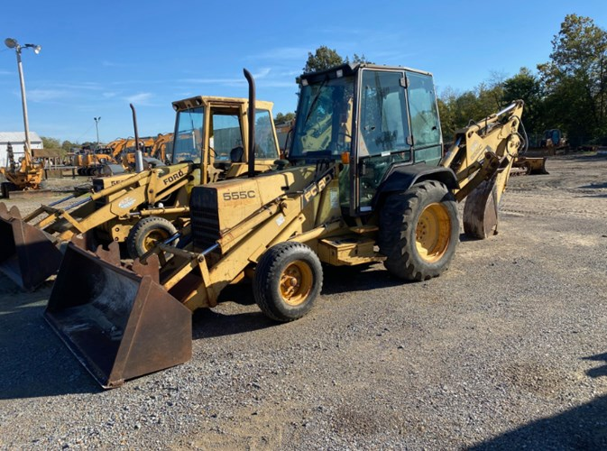 1990 Ford 555C Loader Backhoe For Sale