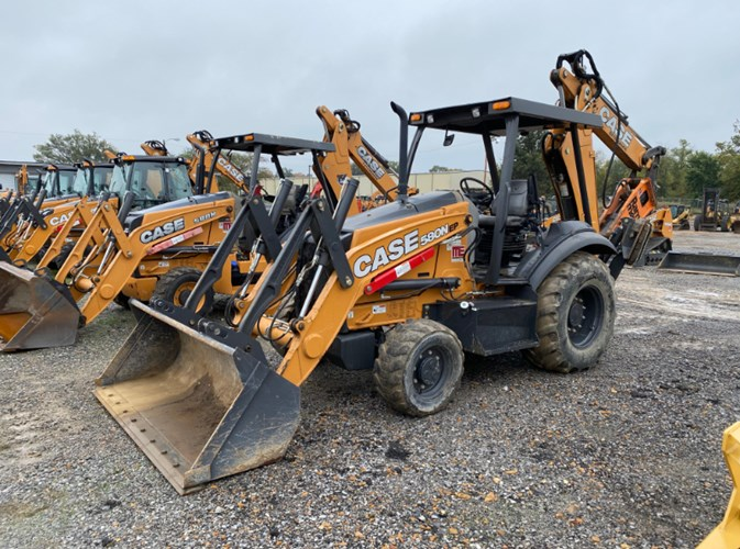 2018 Case 580Nep Loader Backhoe For Sale