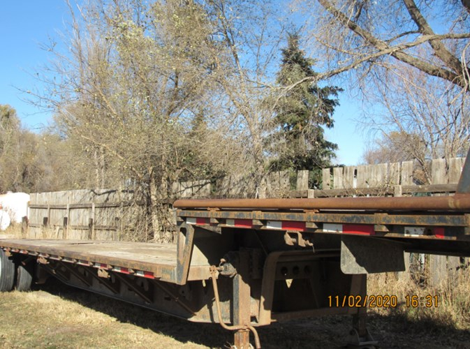 1993 Trail King Drop Deck Specialty Trailer For Sale