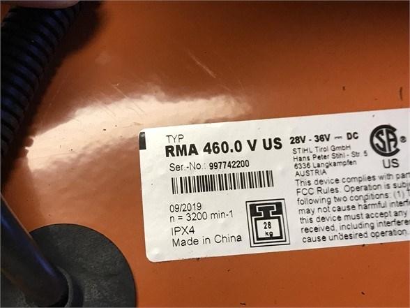 2020 Stihl RMA460V Image 4