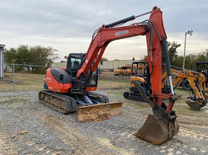 2014 Kubota KX-080-4 Excavator-Mini For Sale