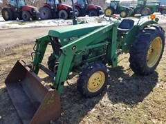 Tractor - Compact Utility For Sale 1985 John Deere 1050 , 37 HP
