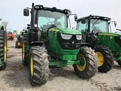 Tractor - Utility For Sale 2018 John Deere 6110R , 110 HP