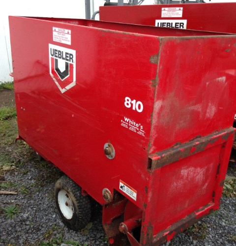 2014 Uebler 810 Feed Cart For Sale