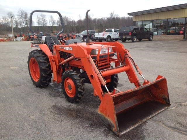 2001 Kubota L3000DT Tractor For Sale