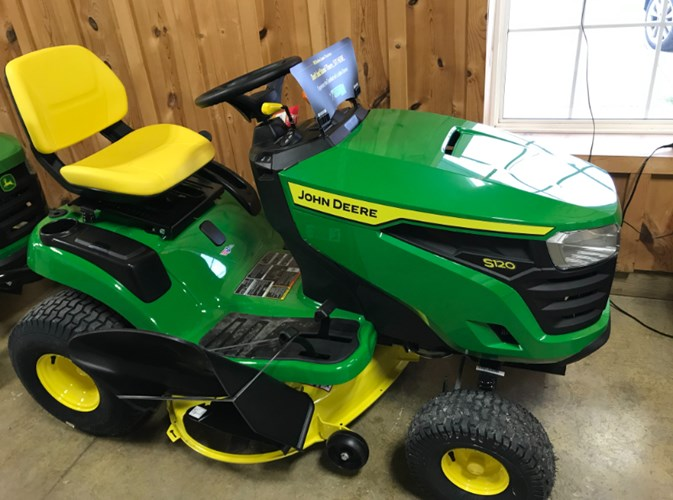 2020 John Deere S120 Riding Mower For Sale