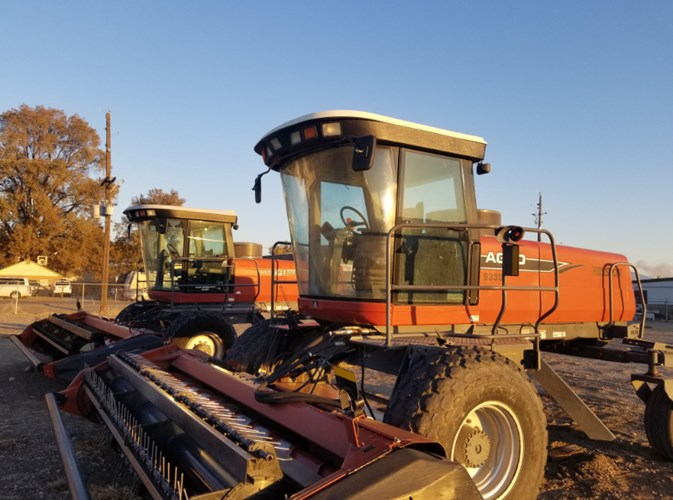 2008 Agco 9330 Windrower-Self Propelled For Sale