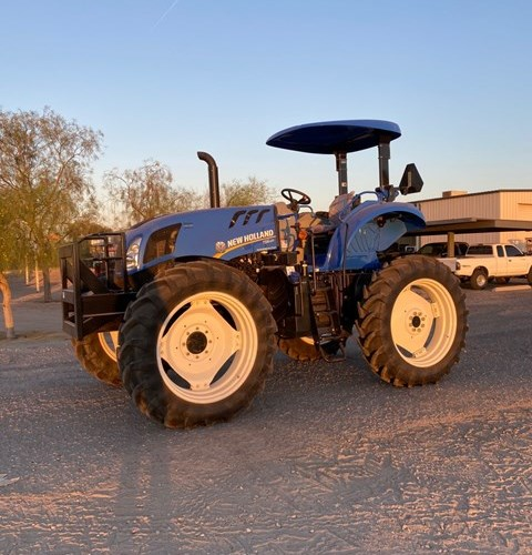 2020 New Holland TS6.120 Tractor