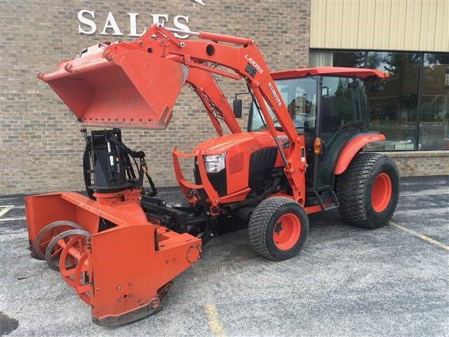 2017 Kubota L6060HSTC Tractor For Sale