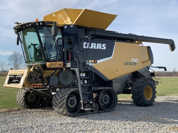 2013 CLAAS 750TT Combine For Sale
