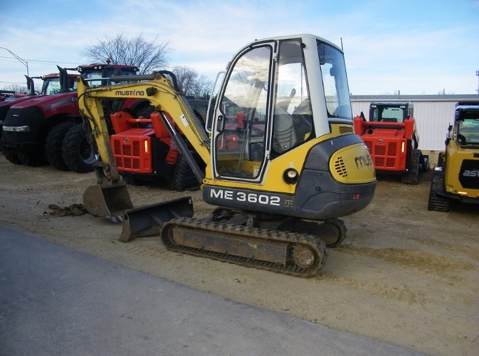 Mustang ME3602 Excavator-Mini For Sale