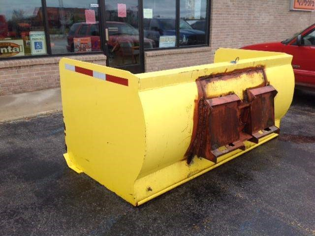 Homemade PUSHER Snow Blade For Sale