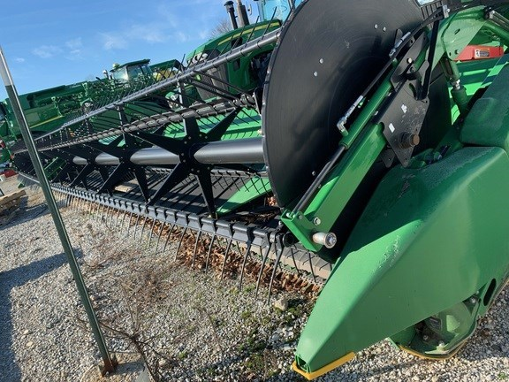 2015 John Deere 640FD Header-Auger/Flex For Sale