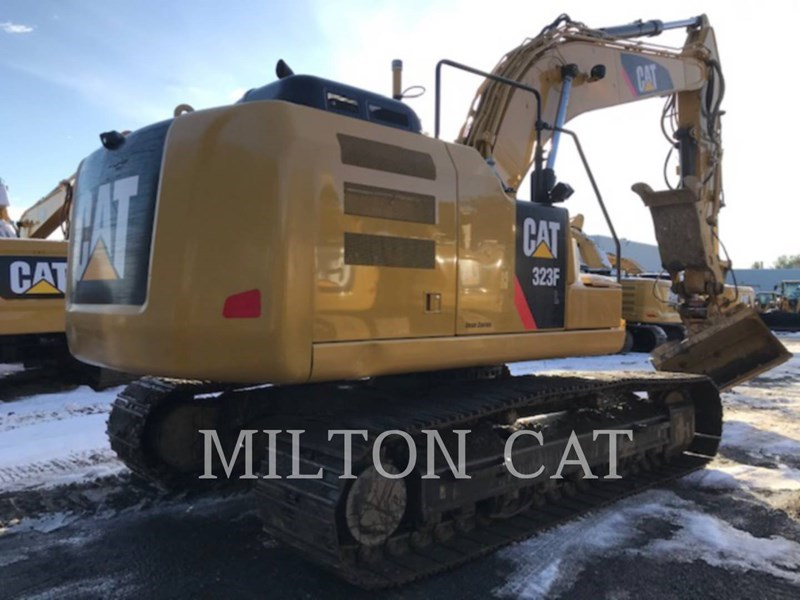 2017 Caterpillar 323F L Image 4