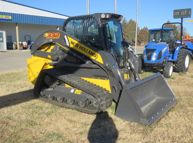 2020 New Holland C332 Skid Steer-Track For Sale