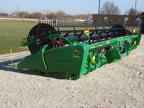 2020 John Deere 735FD Header-Draper/Flex For Sale