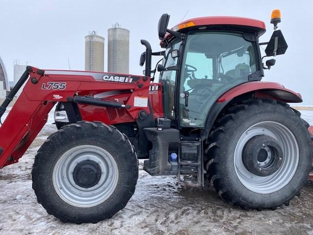 2014 Case IH MAXXUM 125 Tractor For Sale