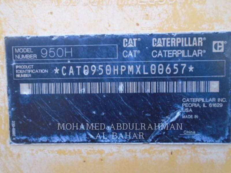 2014 Caterpillar 950H Image 10