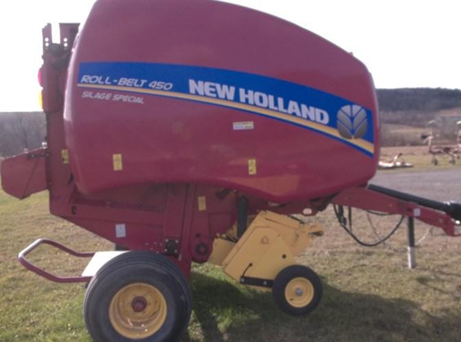 2016 New Holland Rollbelt 450 Baler-Round For Sale