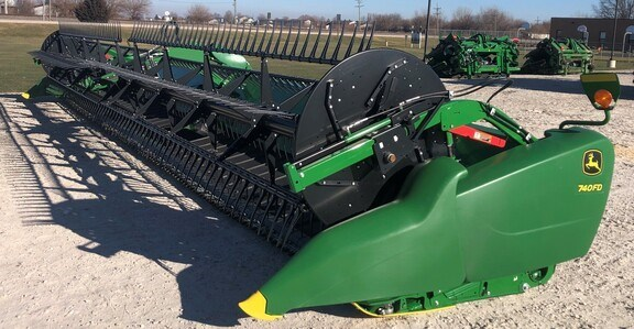2020 John Deere 740FD Header-Draper/Flex For Sale