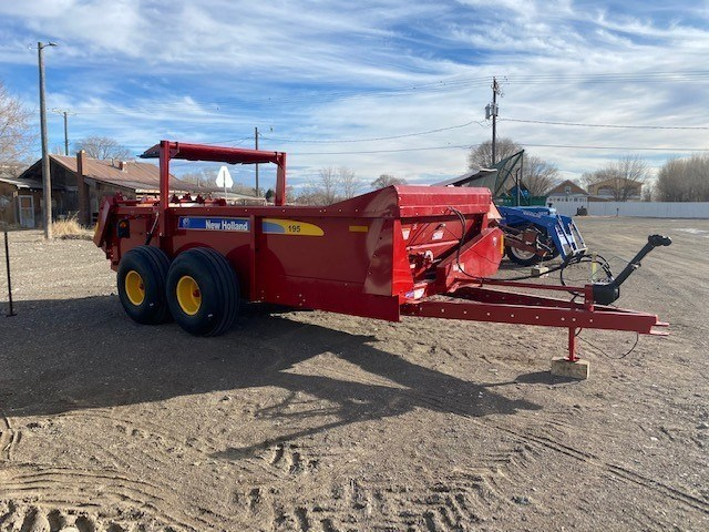 2021 New Holland 195 MBS Manure Spreader-Dry/Pull Type For Sale