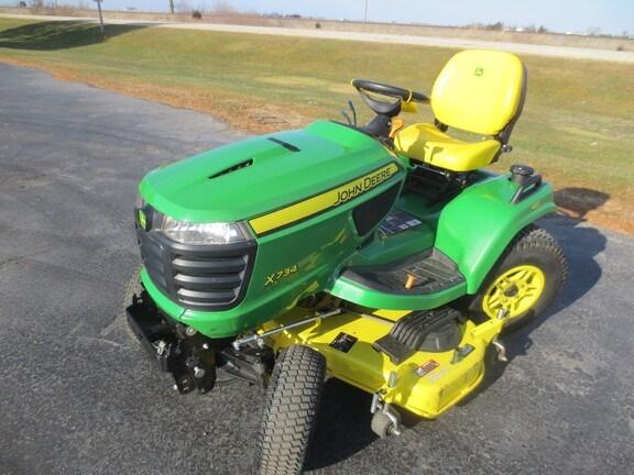 2019 John Deere X734 Riding Mower For Sale