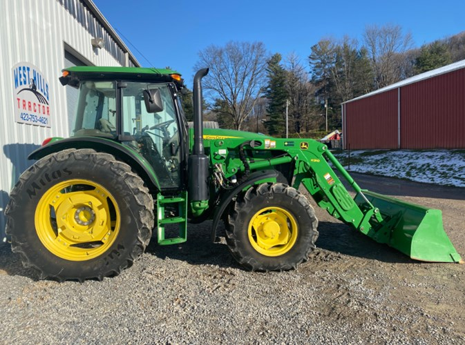 2017 John Deere 6120E Tractor For Sale