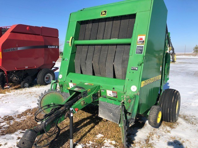 1999 John Deere 566 Baler-Round For Sale