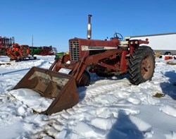 Tractor For Sale: International 756, 85 HP