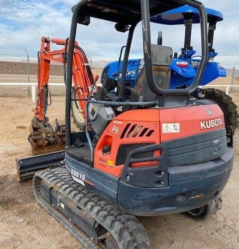 Kubota KX91 Excavator-Track For Sale