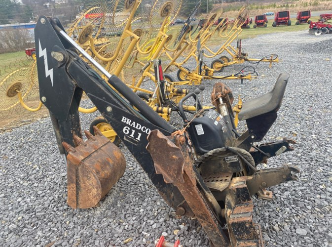 1998 Bradco 611 3 Point Backhoe Attachment For Sale