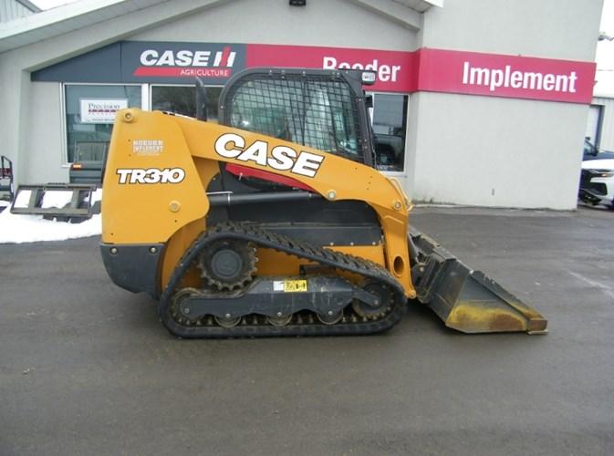 2017 Case TR310 Skid Steer-Track For Sale
