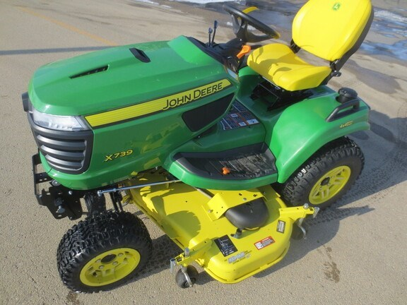 2019 John Deere X739 Riding Mower For Sale
