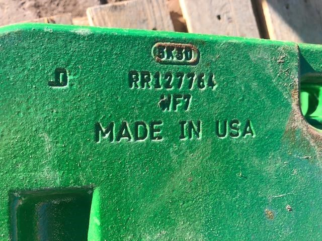 2015 John Deere 7200 Weights For Sale