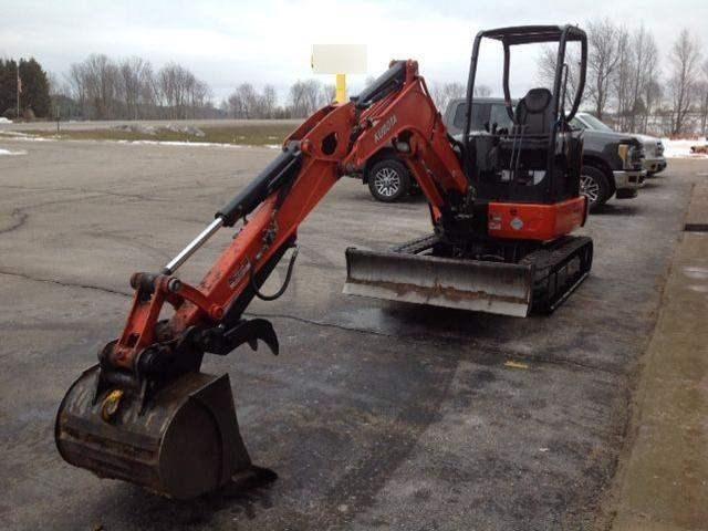 2017 Kubota KX033-4R1A Excavator-Mini For Sale