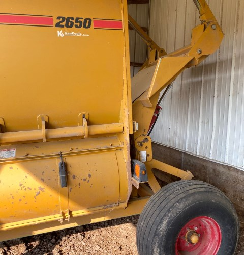 2015 Haybuster 2650 Tub Grinder - Feed/Hay For Sale