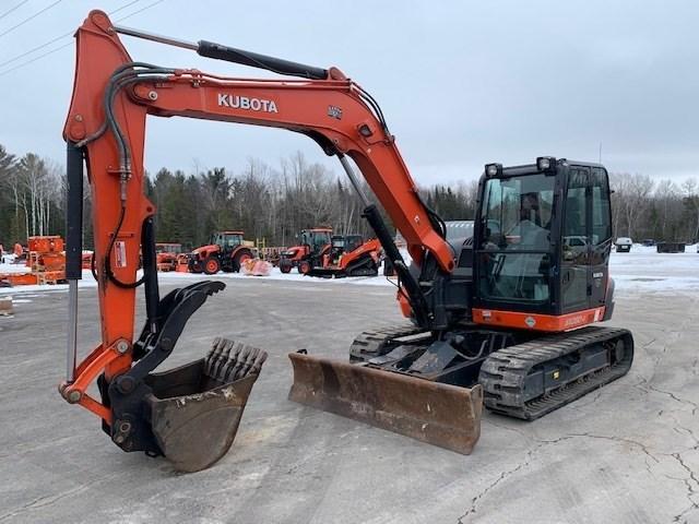 2015 Kubota KX080-4R3A Excavator-Track For Sale