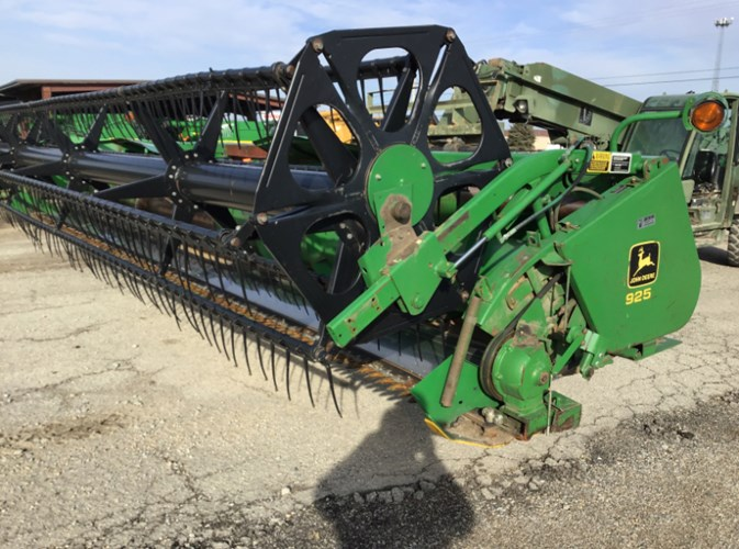 1992 John Deere 925  Header-Auger/Flex For Sale