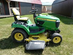 Riding Mower For Sale 2014 John Deere X758 , 24 HP