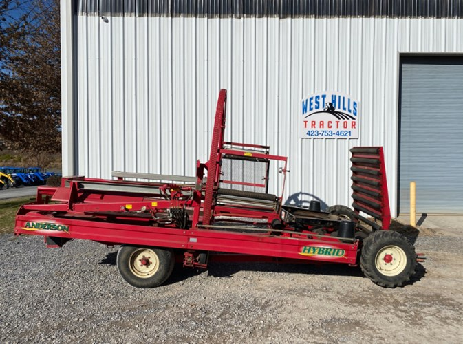 2005 Anderson Hybrid Bale Wrapper For Sale