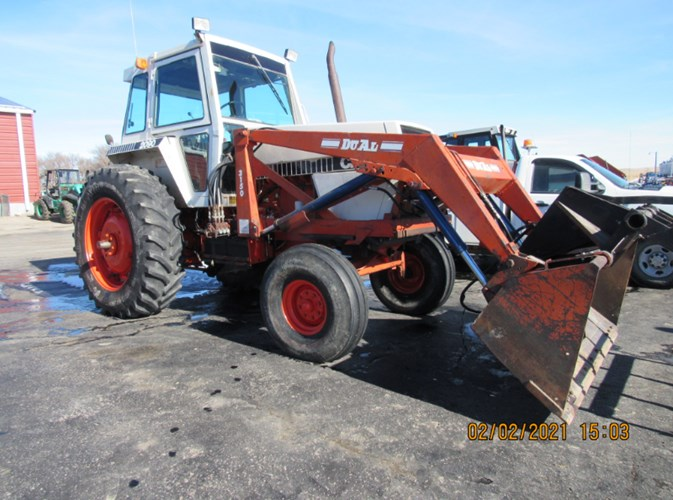 1983 Case IH 2090 Tractor For Sale