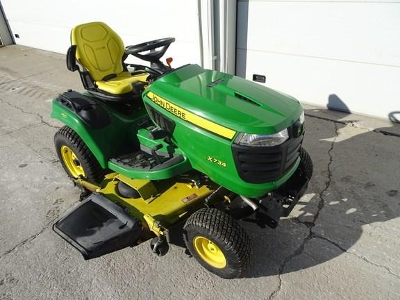 2013 John Deere X734 Riding Mower For Sale