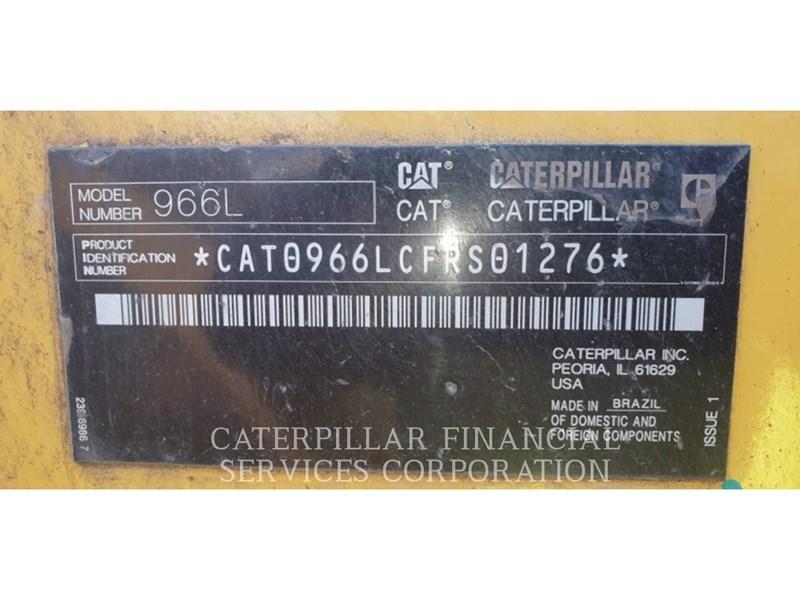 2017 Caterpillar 966L Image 6