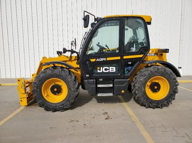 2021 JCB 538-60AG Telehandler For Sale