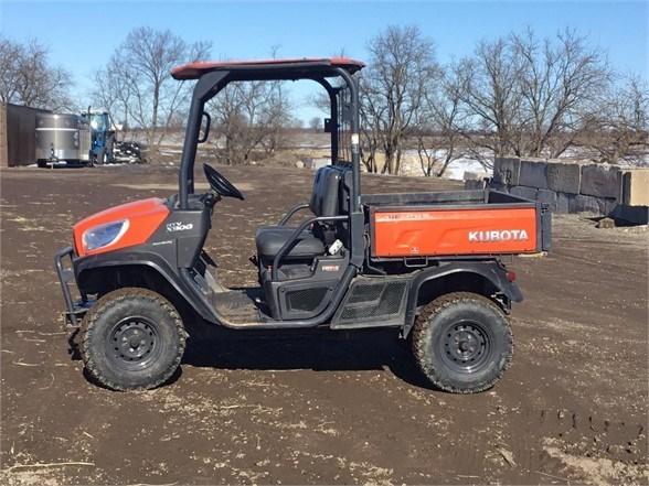 2015 Kubota RTVX900G Utility Vehicle For Sale